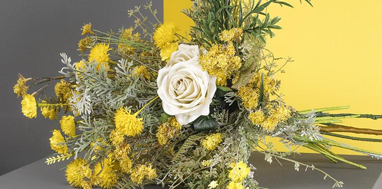 yellow-grey trend
