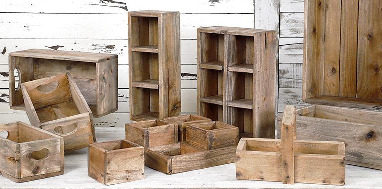 colección teca-caoba